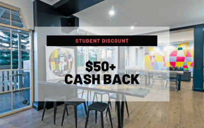 Student Discount: $50+ Cash Back